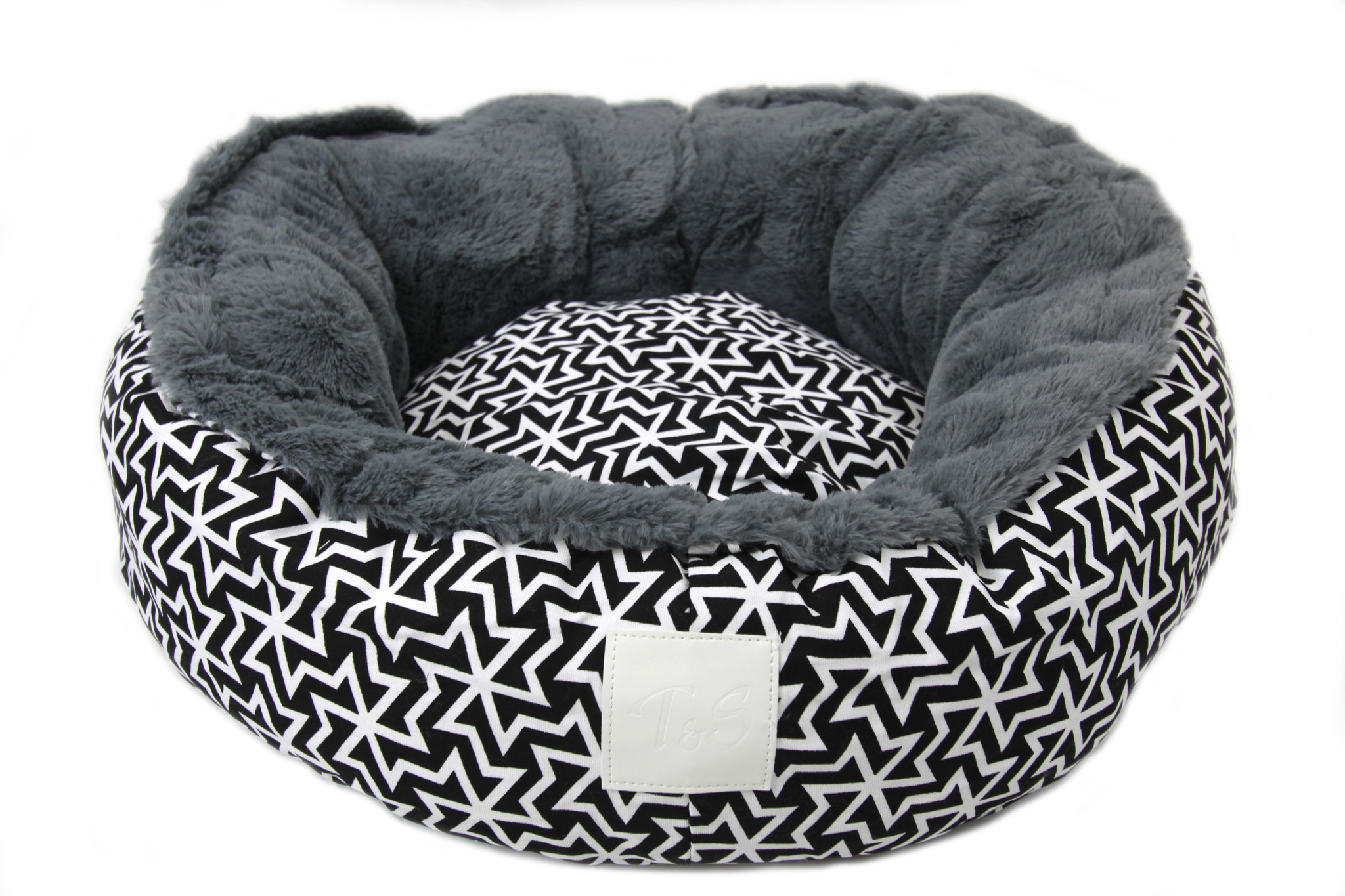 Snug Bed Black and White Chaos