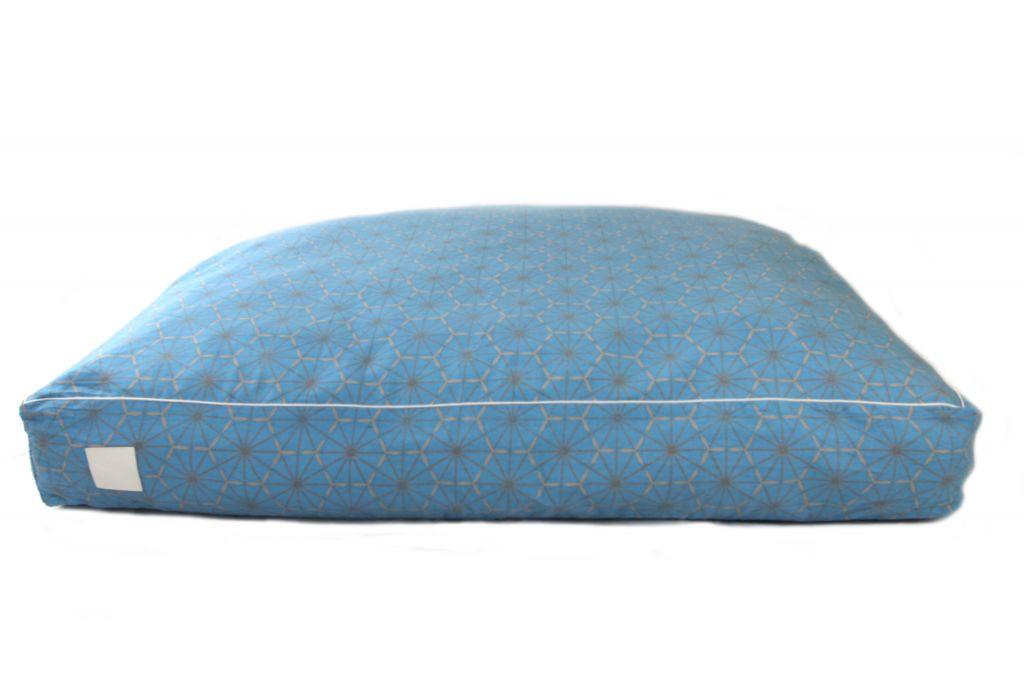 Floor Cushion Blue Windmill